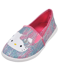 "Hello Kitty Girls' ""Krissy"" Slip-On Sneakers (Toddler Sizes 11 – 12) - CookiesKids.com"