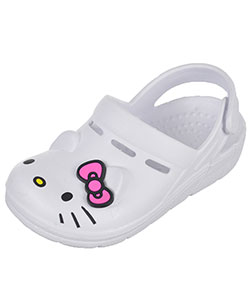 "Hello Kitty Girls' ""3D Ears"" Clogs (Toddler Sizes 5 – 10) - CookiesKids.com"