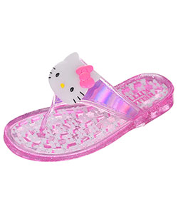 "Hello Kitty Girls' ""Jellie"" Sandals (Toddler Sizes 11 – 12) - CookiesKids.com"