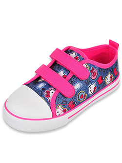 Hello Kitty Girls' Sneakers (Toddler Sizes 5 – 10) - CookiesKids.com
