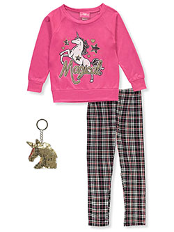 Magical 3-Piece Leggings Set Outfit by Girls Luv Pink in Assorted, Girls Fashion