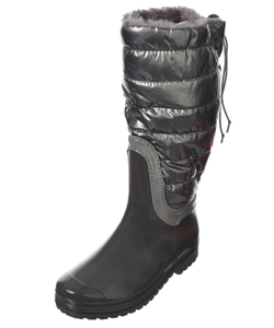 "Henry Ferrera Girls ""Fashion Baffle"" Calf-High Boots (Youth Sizes 12 – 6) - CookiesKids.com"