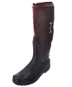 "Henry Ferrera Girls' ""Rider"" Knee-High Boots (Youth Sizes 13 – 6) - CookiesKids.com"