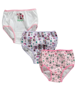 Minnie Mouse 3-Pack Panties by Disney in Pink/multi