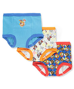 Boys' 3-Pack Training Pants & Chart Set by Paw Patrol in assorted paw patrol and turquoise/multi