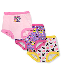 Minnie Mouse 3-Pack Training Pants & Chart Set by Disney in Pink/multi