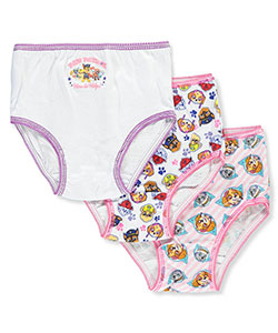 Girls' 3-Pack Briefs by Paw Patrol in Pink/multi