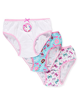 Girls' 3-Pack Bikini Panties by Jojo Siwa in Pink/multi