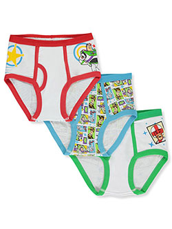 Toy Story Boys' 3-Pack Briefs by Disney in Black multi