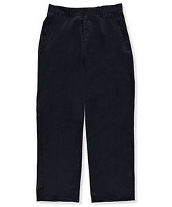 Preferred School Uniforms Big Boys' Husky  Flat Front Pants (Husky Sizes) - CookiesKids.com