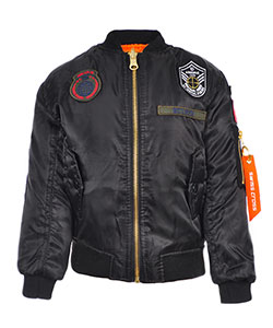 "Swiss Cross Baby Boys' ""Airborne '79"" Reversible Flight Jacket - CookiesKids.com"