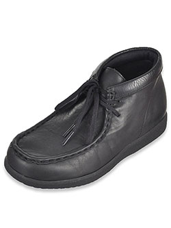 "Hush Puppies Boys' ""O'Toole"" Leather Chukka Boots (Youth Sizes 12.5 – 7) - CookiesKids.com"