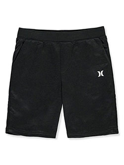 Hurley Boys' Logo Shorts by Levi's in Black heather