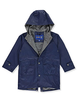 Unisex Raincoat by Wippette in navy, pink, yellow and yellow/pink - $14.99