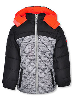 Girls' Insulated Jacket by Pink Platinum in Black