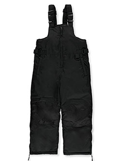 Boys' Bib Snowpants by Ixtreme in Black