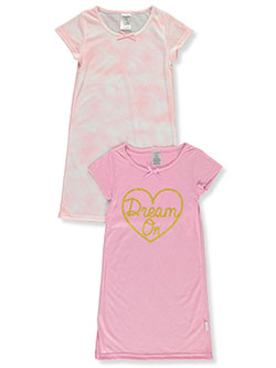 Girls' 2-Pack Nightgowns by Tahari in Pink
