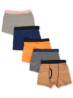 Only Boys 5-Pack Tiger Boxer Briefs by Intimateco in Multi, Boys Fashion