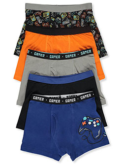 Boys' 5-Pack Boxer Briefs by Only Boys in Multi
