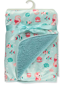 Sea Friends Sherpa Baby Blanket by Stylish Baby