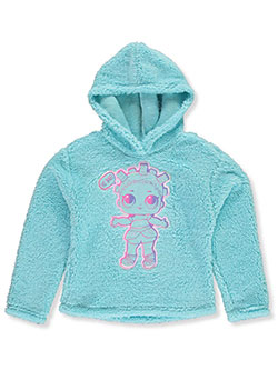 Cosmic Queen Sherpa Pullover Hoodie by LOL Surprise in Aqua - $11.99