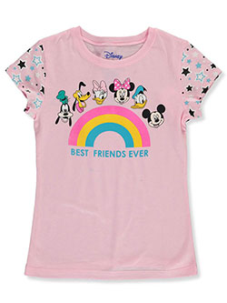 Girls' Best Friends Forever T-Shirt by Disney in Ice pink