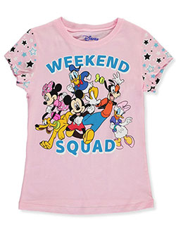 Girls' Weekend Squad T-Shirt by Disney in Ice pink