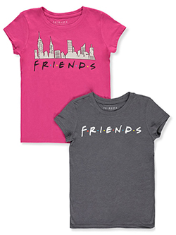 2-Pack T-Shirts by Friends in Multi