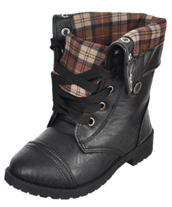 "Blue Suede Shoes Girls' ""Dura"" Boots (Toddler Sizes 11 – 12) - CookiesKids.com"
