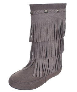 "Blue Suede Shoes Girls' ""Winona"" Boots (Toddler Sizes 11 – 12) - CookiesKids.com"