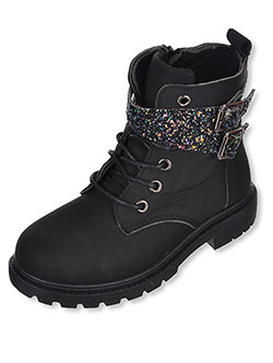 Girls' Boots by Blue Suede Shoes in Black