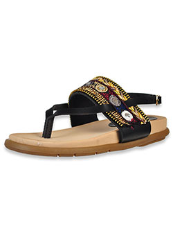 Girls' Sandals by Link in Black