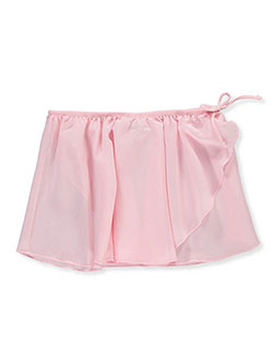 Girls' Dance/Ballet Skirt by Marilyn Taylor in Pink, Sizes 7-20