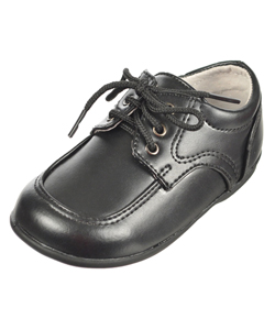 "Boys ""Mason"" Dress Shoes by Josmo in black and white"