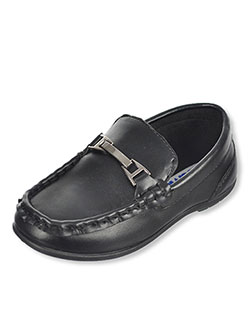 "Josmo Boys' ""Rectangle Clasp"" Driving Loafers (Toddler Sizes 6 – 11) - CookiesKids.com"