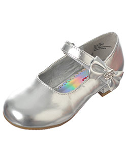 "Josmo Girls ""Bejeweled Bow"" Mini Pumps (Toddler Sizes 7 – 12) - CookiesKids.com"
