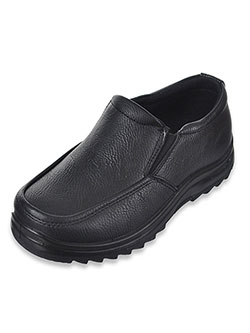 "Boys' ""Latimer"" Slip-On Loafers by Joseph Allen in Black"