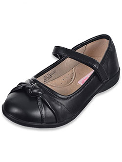 "Laura Ashley Girls' ""Gathered Toe"" Mary Janes (Youth Sizes 13 – 7) - CookiesKids.com"