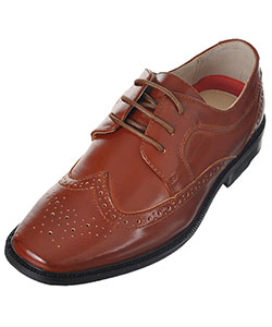 "Joseph Allen Boys' ""Worsted Wingtip"" Dress Shoes (Youth Sizes 13 – 4) - CookiesKids.com"