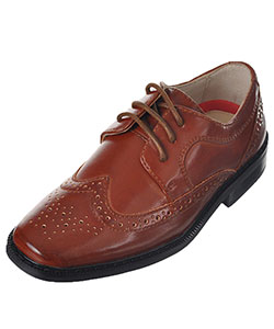 "Joseph Allen Boys' ""Worsted Wingtip"" Dress Shoes (Toddler Sizes 9 – 12) - CookiesKids.com"