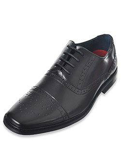 "Boys' ""Worsted Flourish"" Dress Shoes by Joseph Allen in Black"