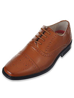 "Joseph Allen Boys' ""Worsted Flourish"" Dress Shoes (Youth Sizes 5 – 8) - CookiesKids.com"
