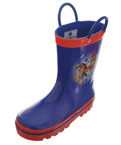 "Paw Patrol Boys' ""Ready for Action!"" Rain Boots (Toddler Sizes 7 – 12) - CookiesKids.com"
