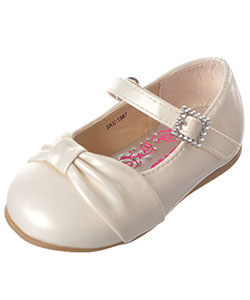 "Josmo Baby Girls' ""Gathered Toe"" Flats - CookiesKids.com"