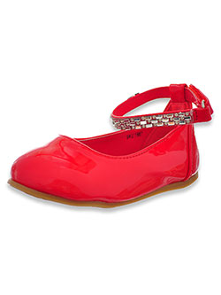 Girls' Mirror Jewels Mary Jane Shoes by Josmo in Red