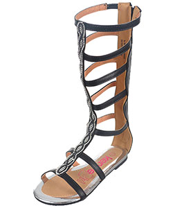 "Kensie Girls' ""Pearly Eye"" Gladiator Sandals (Toddler Sizes 11 – 12) - CookiesKids.com"