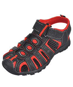 "Rugged Bear Boys' ""Mountaineer"" Sport Sandals (Toddler Sizes 11 – 12) - CookiesKids.com"