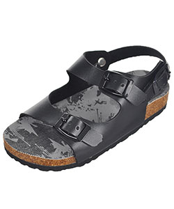 "Rugged Bear Girls' ""Buckled"" Sandals (Toddler Sizes 6 – 10) - CookiesKids.com"