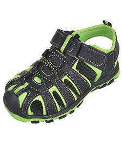 "Rugged Bear Boys' ""Mountaineer"" Sport Sandals (Toddler Sizes 5 – 10) - CookiesKids.com"