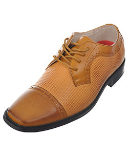 "Joseph Allen Boys' ""Worsted & Woven"" Dress Shoes (Youth Sizes 5 – 8) - CookiesKids.com"